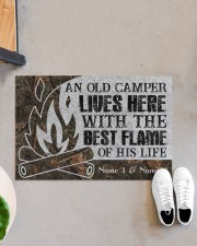 """An Old Camper Lives Here Doormat 34"""" x 23"""" aos-doormat-34-x-23-lifestyle-front-07"""