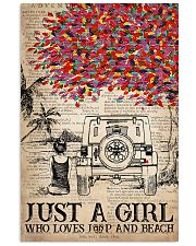 Just A Girl 16x24 Poster front
