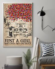 Just A Girl 16x24 Poster lifestyle-poster-1