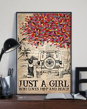 Just A Girl 16x24 Poster lifestyle-poster-2