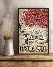 Just A Girl 16x24 Poster lifestyle-poster-3