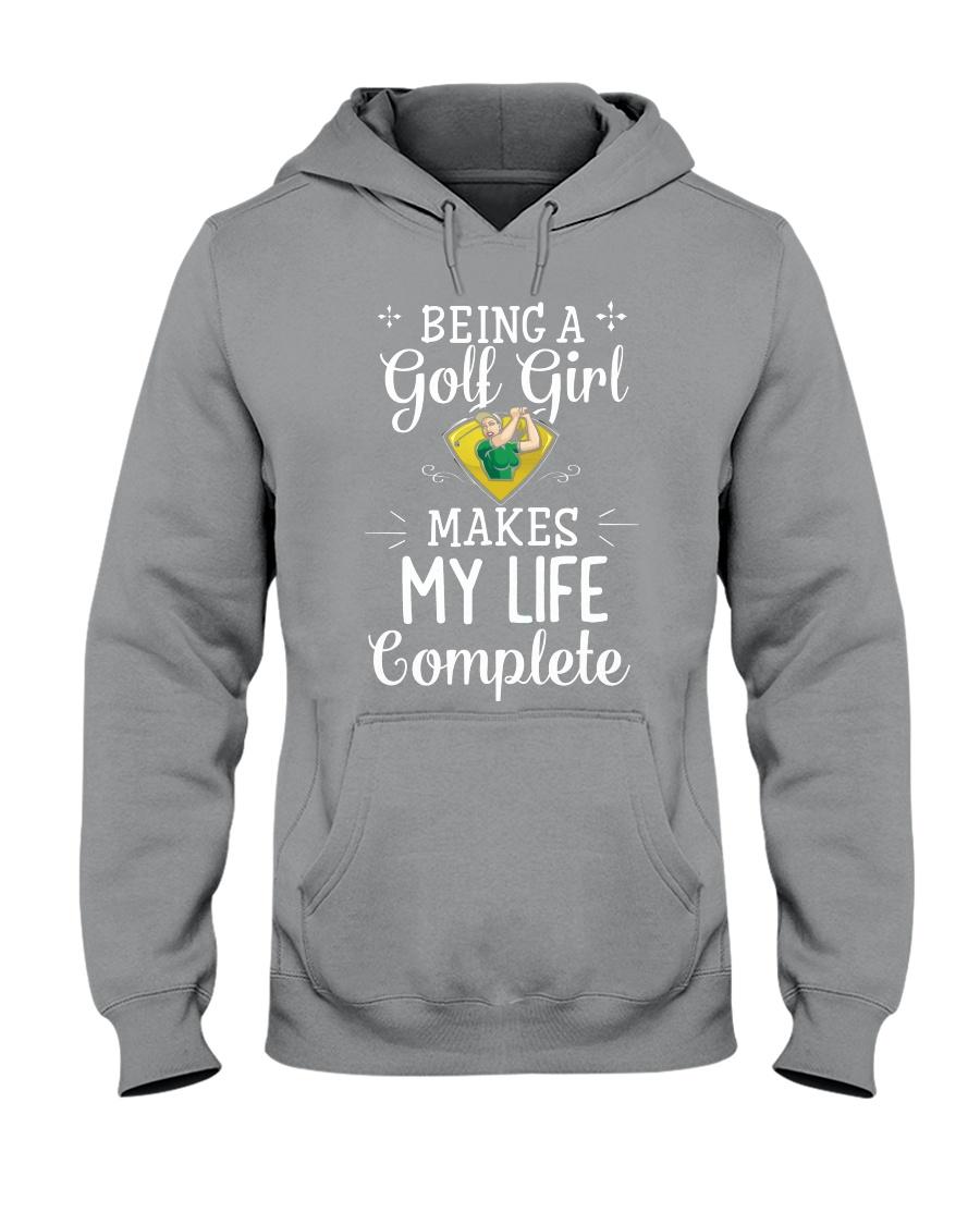 Golf girl Hooded Sweatshirt
