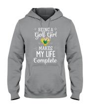 Golf girl Hooded Sweatshirt front