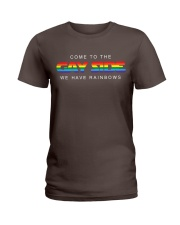 Come To The Gay Side Ladies T-Shirt thumbnail