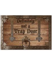 """Definitely Not A Trap Door Doormat 34"""" x 23"""" front"""