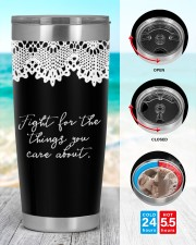 Feminist Fight For The Things 20oz Tumbler aos-20oz-tumbler-lifestyle-front-44