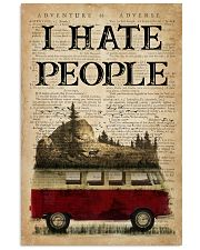 Camping I Hate People 16x24 Poster front