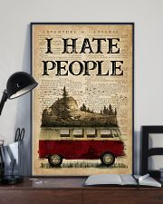 Camping I Hate People 16x24 Poster lifestyle-poster-2