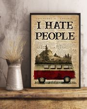 Camping I Hate People 16x24 Poster lifestyle-poster-3