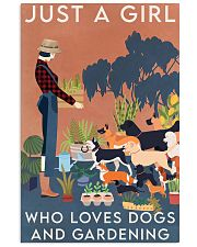 Garden Dogs And Gardening 16x24 Poster front