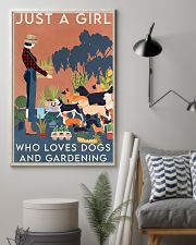 Garden Dogs And Gardening 16x24 Poster lifestyle-poster-1