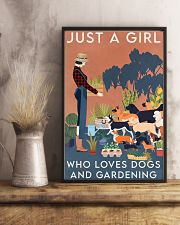 Garden Dogs And Gardening 16x24 Poster lifestyle-poster-3