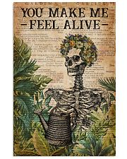 Garden You Make Me Feel Alive 16x24 Poster front