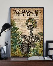 Garden You Make Me Feel Alive 16x24 Poster lifestyle-poster-2
