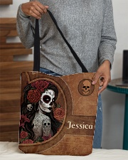 Skull Girl Print All-over Tote aos-all-over-tote-lifestyle-front-10