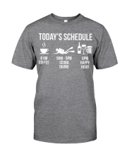 Today's schedule Classic T-Shirt thumbnail