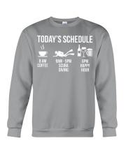 Today's schedule Crewneck Sweatshirt thumbnail