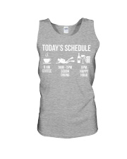Today's schedule Unisex Tank thumbnail