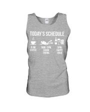 Today's schedule Unisex Tank thumbnail