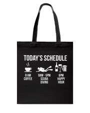 Today's schedule Tote Bag thumbnail