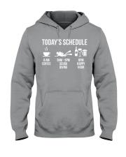 Today's schedule Hooded Sweatshirt thumbnail
