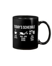 Today's schedule Mug thumbnail