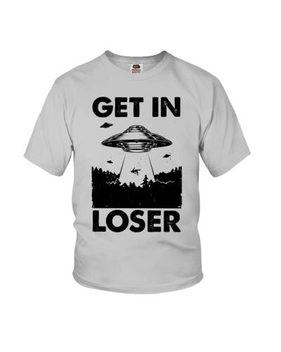 UFO Get In Loser - T-shirt
