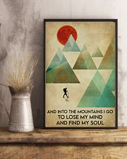 Hiking Find My Soul 16x24 Poster lifestyle-poster-3
