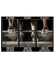 Fitness Be Strong When You Are Weak 36x24 Poster front