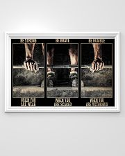 Fitness Be Strong When You Are Weak 36x24 Poster poster-landscape-36x24-lifestyle-02