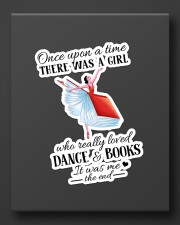 Book And Dance Sticker - Single (Vertical) aos-sticker-single-vertical-lifestyle-front-08