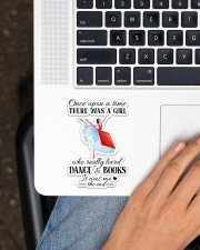 Book And Dance Sticker - Single (Vertical) aos-sticker-single-vertical-lifestyle-front-11