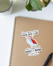 Book And Dance Sticker - Single (Vertical) aos-sticker-single-vertical-lifestyle-front-16