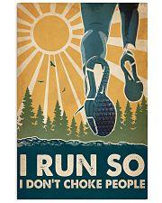 Running I Run So QT 16x24 Poster front