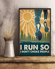 Running I Run So QT 16x24 Poster lifestyle-poster-3