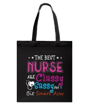 The best nurse Tote Bag thumbnail