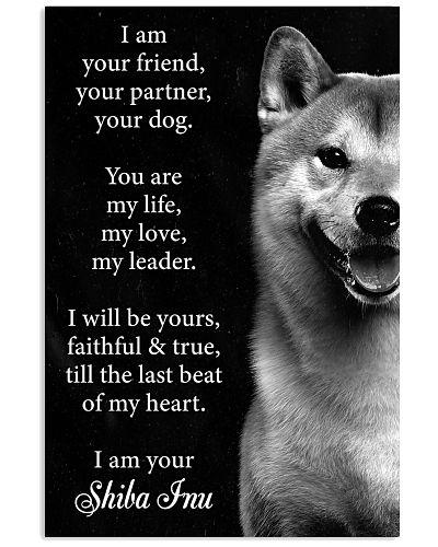 Dog  Shiba Inu I Am your Friend