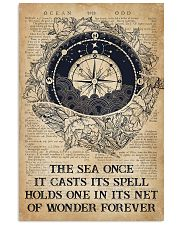 Ocean The Sea Once It Casts Its Spell 16x24 Poster front