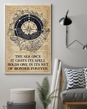 Ocean The Sea Once It Casts Its Spell 16x24 Poster lifestyle-poster-1