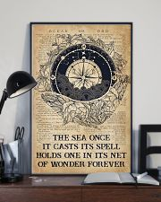 Ocean The Sea Once It Casts Its Spell 16x24 Poster lifestyle-poster-2