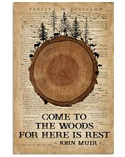 Camping Come To The Woods 16x24 Poster front