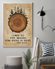 Camping Come To The Woods 16x24 Poster lifestyle-poster-1