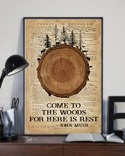 Camping Come To The Woods 16x24 Poster lifestyle-poster-2