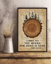 Camping Come To The Woods 16x24 Poster lifestyle-poster-3