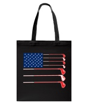Golf Flag - Hoodie And T-shirt Tote Bag thumbnail