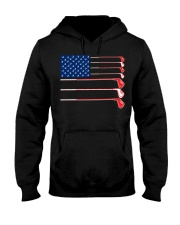 Golf Flag - Hoodie And T-shirt Hooded Sweatshirt front