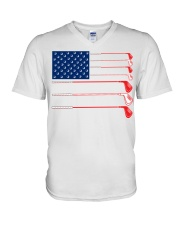 Golf Flag - Hoodie And T-shirt V-Neck T-Shirt thumbnail