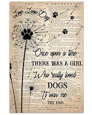 Dog Live Love Dog 16x24 Poster front