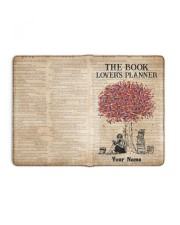 The Book Lover's Planner Medium - Leather Notebook full