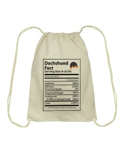 Dachshund Drawstring Bag thumbnail